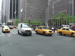 Manhattan Traffic 1 Footage