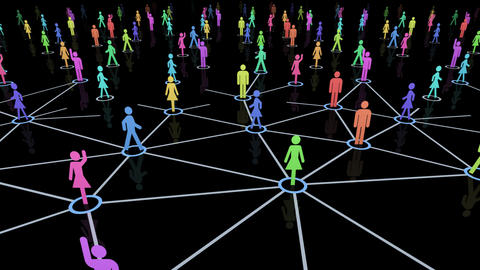 Social Network Connection A 44m 2 Animation