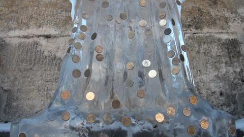 Ice sculpture Stock Video Footage