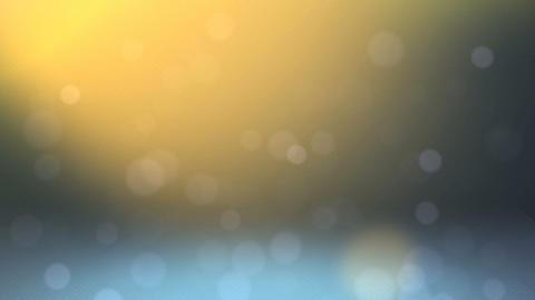 falling bokehs Stock Video Footage