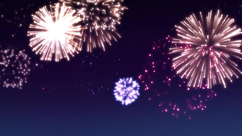 fireworks scene 002 Animation