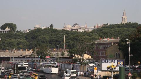Eminonu district Footage