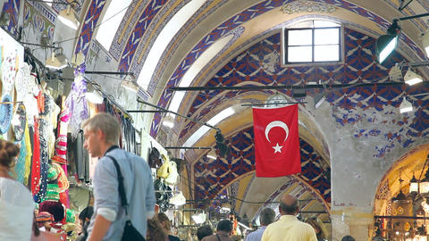 Grand bazaar interior Footage