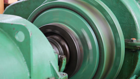 Industrial winch Stock Video Footage
