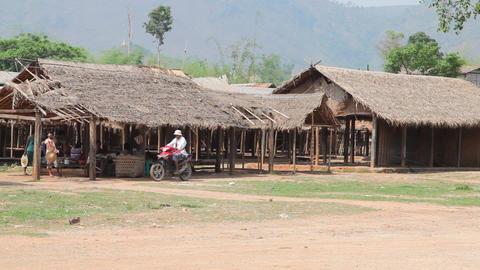 Indein village, Myanmar Footage
