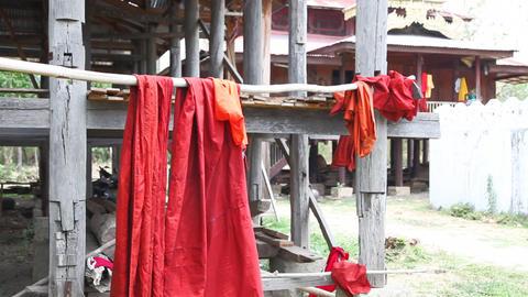 Samkar village, Myanmar Stock Video Footage