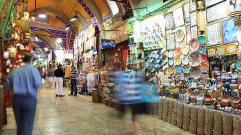 Istanbul Grand Bazar edit tl 01 HD Stock Video Footage