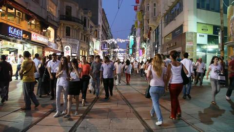 Istiklal street Footage