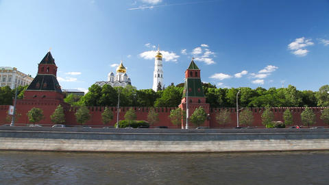 Travel along Kremlin Footage