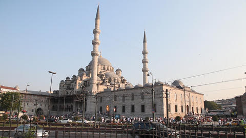 New Mosque ( Yeni Cami ) Footage
