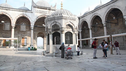 Yeni Cami Mosque Footage