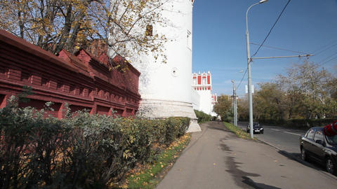 Novodevichy Convent Stock Video Footage