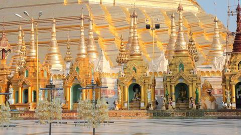Shwedagon Pagoda Footage