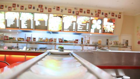 Sushi bar Stock Video Footage