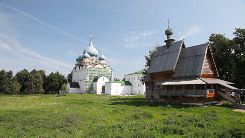 Kremlin in Suzdal Footage