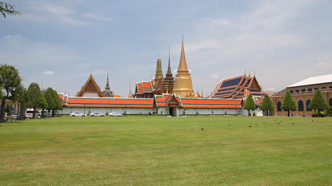 Grand Palace, Bangkok, Thailand Footage