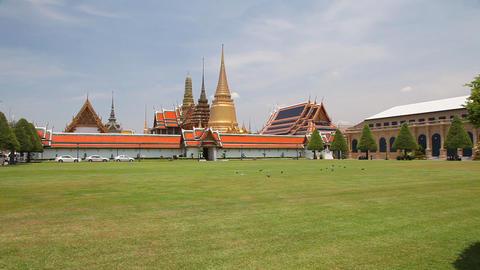 Grand Palace, Bangkok, Thailand Footage