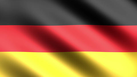 4k Flag Germany Stock Video Footage