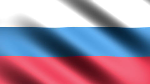 4k Flag Russia Stock Video Footage