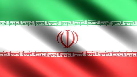 4K Flag Iran Stock Video Footage