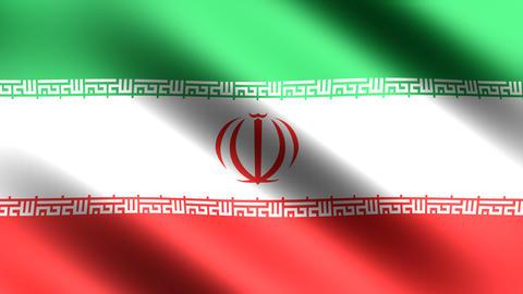 4K Flag Iran Animation