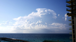 Miami Clouds Stock Video Footage