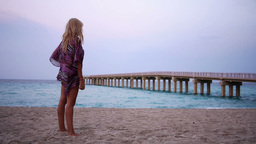 Beach Proposal Stock Video Footage
