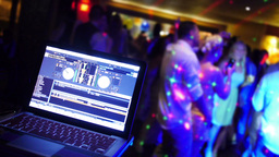 Wedding DJ Stock Video Footage