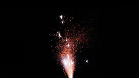 Fireworks Foutain 14 Stock Video Footage