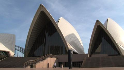 Sydney Opera House Stock Video Footage
