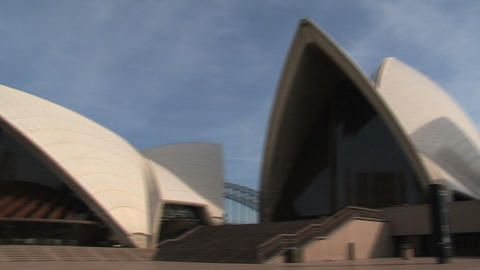 Sydney Opera House Pan Footage
