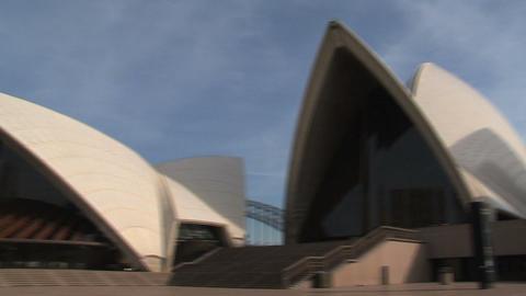 Sydney Opera House Pan Footage