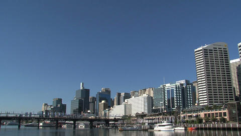 Downtown Sydney Stock Video Footage