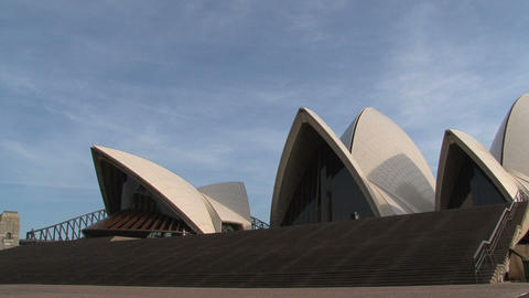 Tourism at the Opera house Stock Video Footage