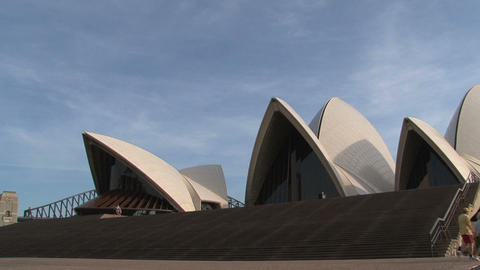 Tourism at the Opera house Footage