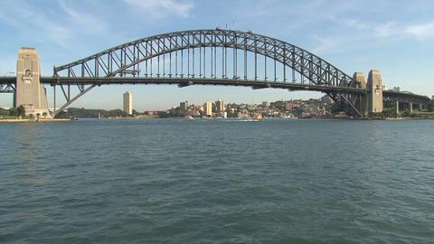 Sydney Harbor bridge Stock Video Footage