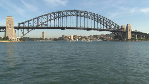 Sydney Harbor bridge Footage