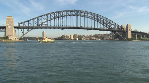 Sydney Harbour Bridge Stock Video Footage