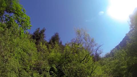 Underwater mountain river Footage