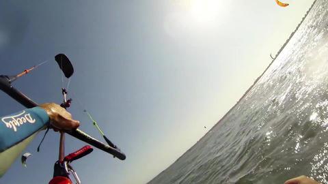 Paulo Azevedo's Kitesurfing POV Footage