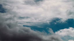 Time lapse of cloudy sky Stock Video Footage