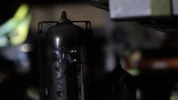 Vintage Radio Elements Stock Video Footage