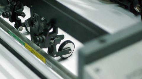 Offset printing process Footage