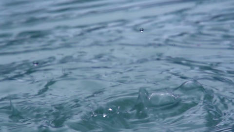 Drops of Water HD Stock Video Footage