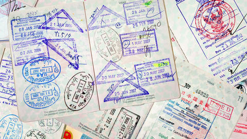 Passport International Travel Animation