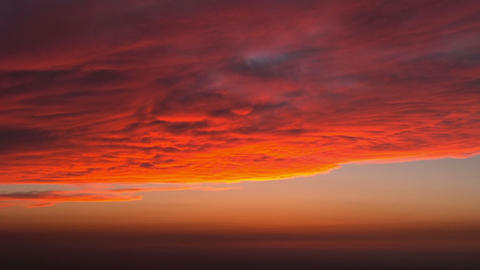 Clouds at Sanset HD Stock Video Footage