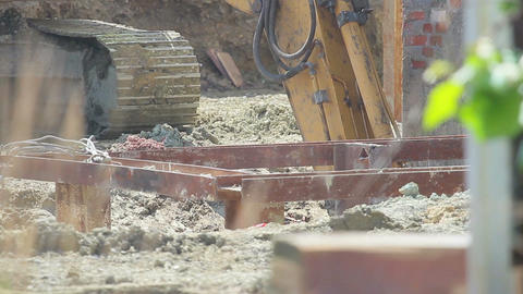 Construction Stock Video Footage