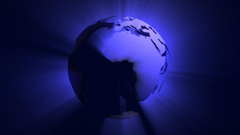 Shiny Globe Stock Video Footage