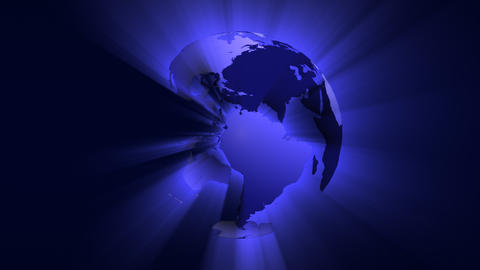 Shiny Globe Stock Video Footage