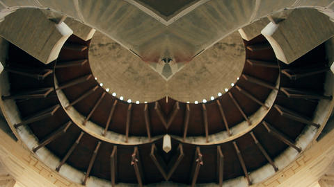 Architecture fractal geometry Aliens Stock Video Footage
